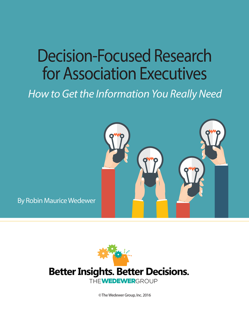 decision focused research ebook cover