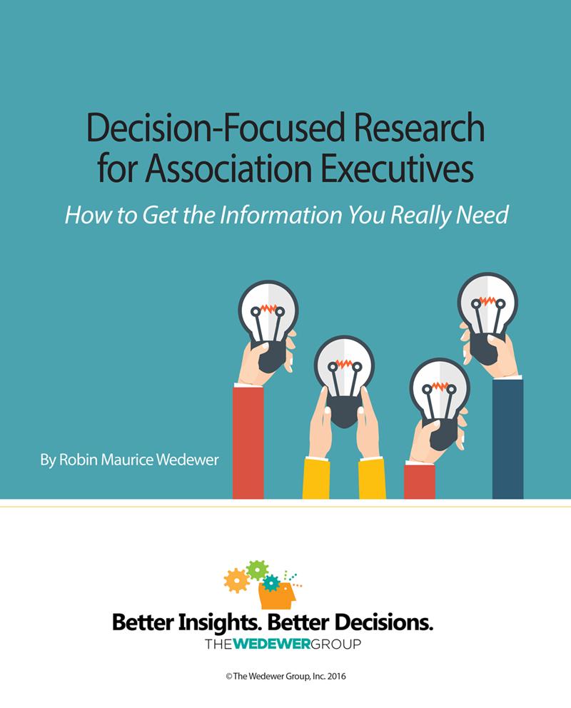 decision focused research ebook cover